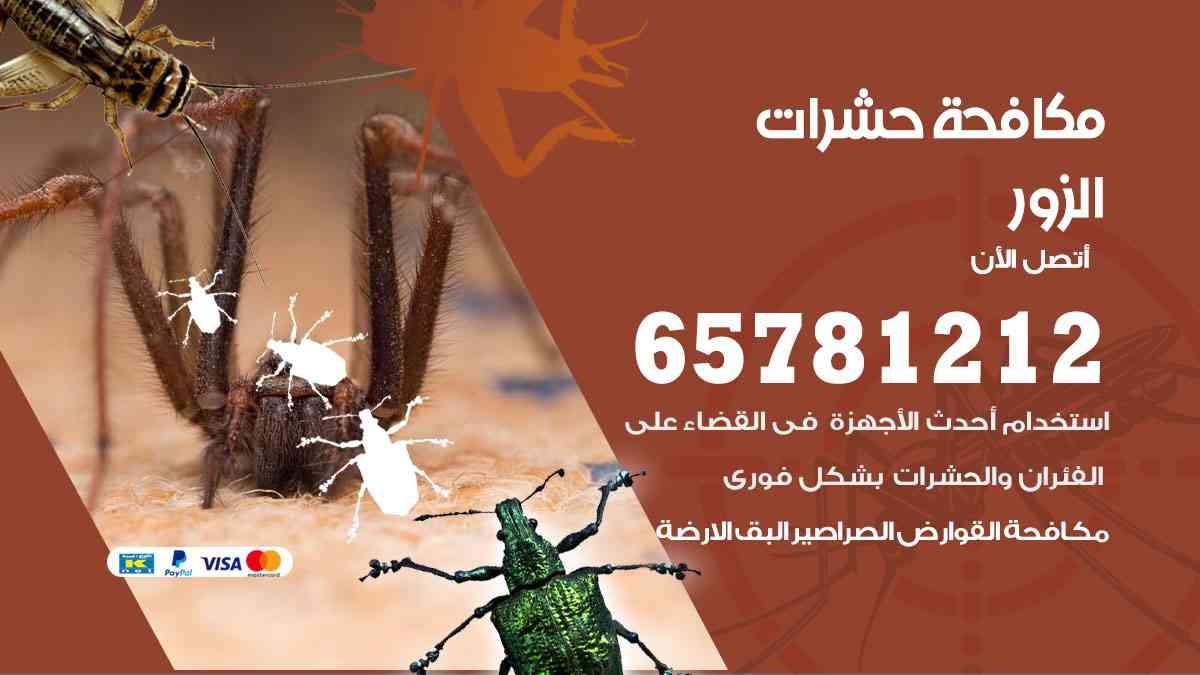 شركات مكافحة حشرات الزور
