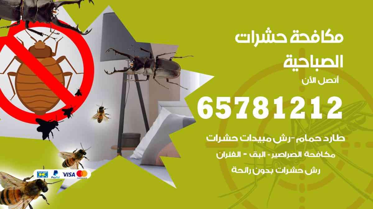 شركات مكافحة حشرات الصباحية