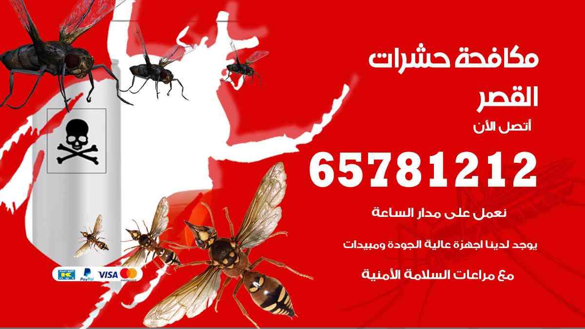 شركات مكافحة حشرات القصر
