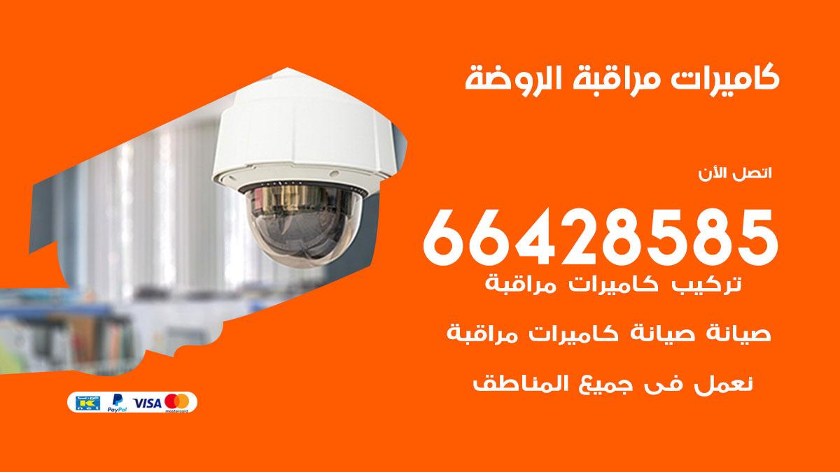 تركيب كاميرات مراقبة الروضة