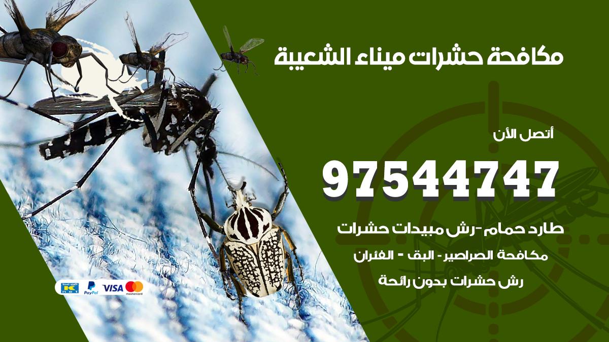 مكافحة حشرات وقوارض ميناء الشعيبة